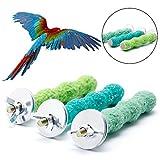 Dairyshop coloré pour animal domestique Cage à oiseaux Perchoir support plate-forme 28cm/2cm Paw meulage Parrot perruche NEUF