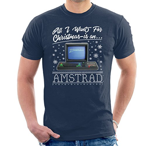 All I Want For Christmas Is An Amstrad Men's T-Shirt