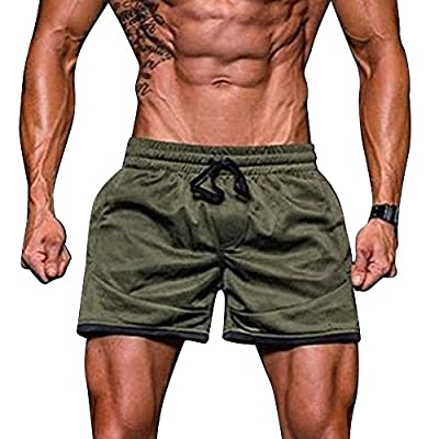 Givekoiu 2019 Men's Swim Trunks Board Shorts Beach Pants Swimming Waterproof Quick Dry Surfing Boardshorts,Sport Fitness Jogging Elastic Stretchy Bodybuilding MuscleBermuda Sweatpants : everything £5 (or less!)