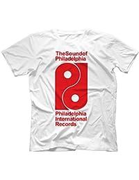 Philadelphia International Records T-Shirt 100% Coton