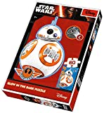 Hasbro Brigamo 81641–Glow nel buio: Puzzle BB8DROIDE di Star Wars 7il risveglio della Forza