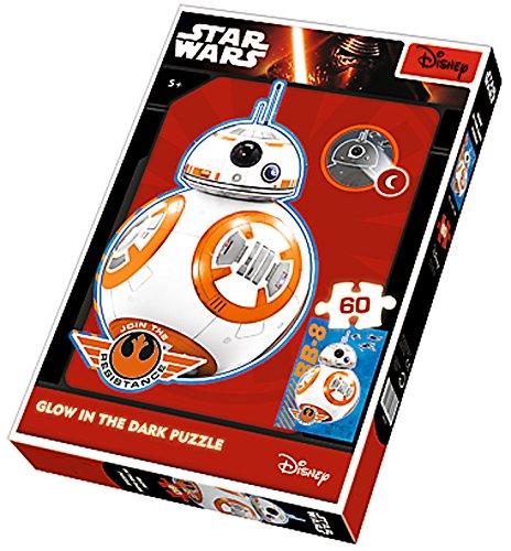 Brigamo 81641 - Leuchtet im dunkeln: Puzzle BB8 Droide aus Star Wars 7 Das Erwachen der Macht thumbnail