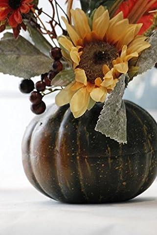 GT Künstliche Blumen Kürbis, Sonnenblumen, fake Topfpflanzen, Einrichtungsgegenstände, festliche