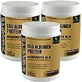 SHARRETS NON GMO EGG WHITE (ALBUMEN) PROTEIN POWDER UNFLAVORED PACK OF 3
