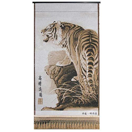 Yuany MG-N Wandbehang Tapisserie, Tiger, Vorhänge, Tischdecken, gelb, Bettwäsche, Picknickmatten, Decken, Wohnzimmer -