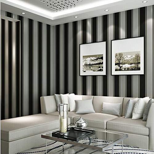 Fototapete Wandbild Wandtapete Tapete 3D Wallpaper herunterladen Black and White Striped für Office, 336 × 238CM