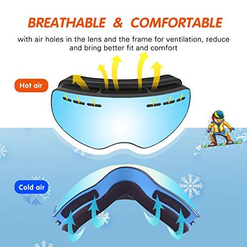 Zoom IMG-3 tuonroad occhiali da sci bambino
