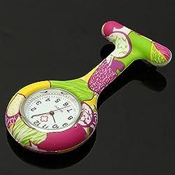 SSITG Watch Silicone Nurse Watch Coat Nurse with Needle