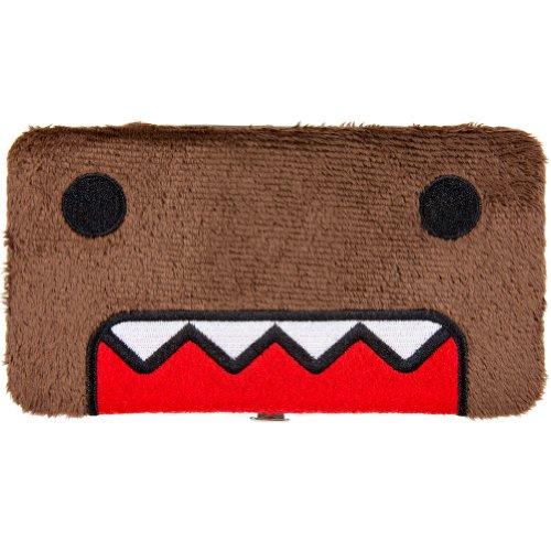 Domo Kun: Domo Face Fuzzy Hinge Wallet
