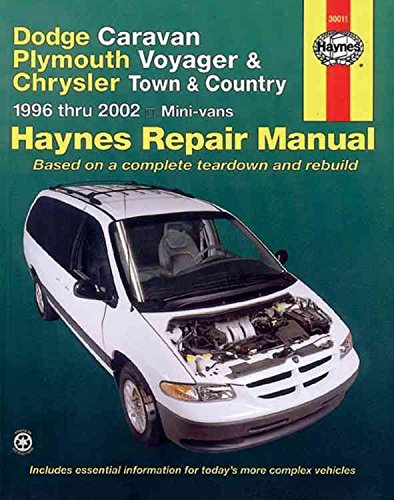 dodge-caravan-plymouth-voyager-and-chrysler-town-and-country-automotive-repair-manual-1996-to-2002-b