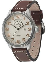 Zeno Watch Basel Pilot Oversized 8554DD-12-f2 - Reloj de Caballero automático con