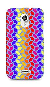 Amez designer printed 3d premium high quality back case cover for Micromax Canvas HD A116 (Retro Pattern7)