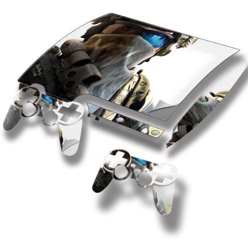 Soldat, Designfolie Sticker Skin Aufkleber Schutzfolie mit Farbenfrohem Design für PlayStation 3 Slim (Gta 6 Für Playstation 3)