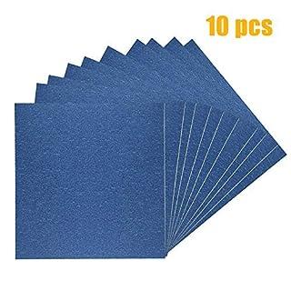 AptoFun Lot de 10 feuilles de papier d'impression 3D pour imprimante 3D Bleu