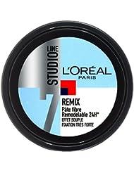 L'Oréal Studio Line REMIX Pâte Coiffante Fixation Très Forte - Lot de 2