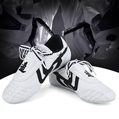 Scarpe da arti marziali Scarpe da Taekwondo, Scarpe da ginnastica sportive Scarpe da karate per Taekwondo, Boxe, Kung Fu, Taichi(36 Size Suit for 220mm Foot Length)