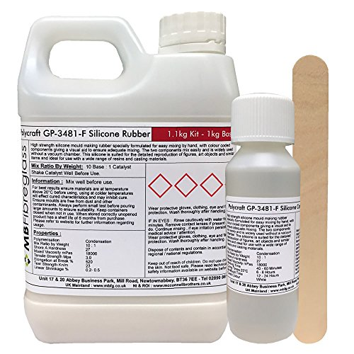 polycraft-gp-3481f-rtv-silicone-mould-making-rubber-11kg-kit-clear-catalyst