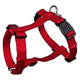 Trixie Premium H-Harness für Hunde (S-M) (Rot)