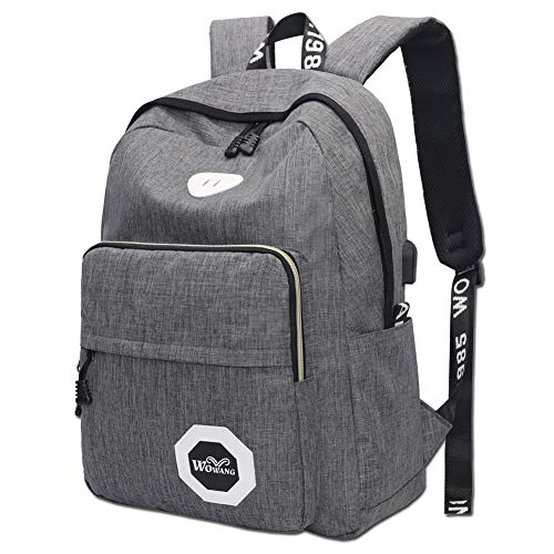d42dad96ad Laptop Backpack Anti Theft Travel Backpack with USB Charging Port Water  Resistant School College Computer Bag