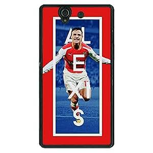 Jugaaduu Arsenal Alexis Sanchez Back Cover Case For Sony Xperia Z