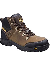 Work Boots & Shoes Caterpillar Cat Munising S3 Src Mens Steel Toe Cap Waterproof Safety Boots Ppe Men's Shoes