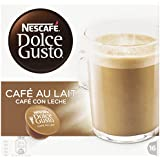 Nescafé Dolce Gusto - Café con leche - 3 Paquetes de 16 Cápsulas - Total: 48 Cápsulas