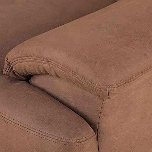 ALESSANDRIA Boxspringsofa 2-Sitzer 3-Sitzer Garnitur Sofa Couch Kamel -