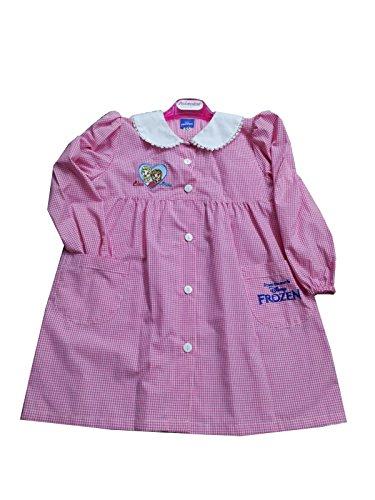 Disney grembiule asilo frozen bambina scuola materna (art. s952009) (70-7 anni)