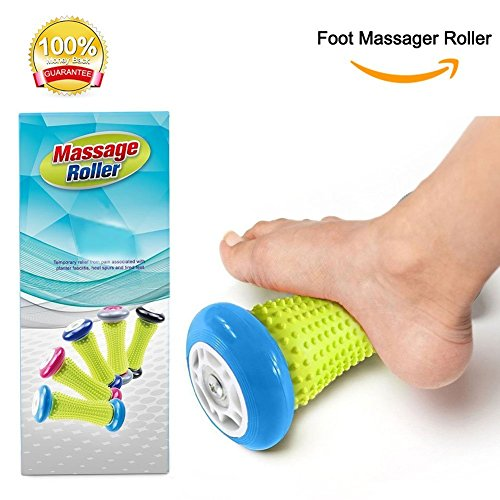 PILAAIDOU Muscle Roller Stick – Foot and Hand Massage Roller for Plantar Fasciitis, Arm pain-Heel & Foot Arch Pain Relief.