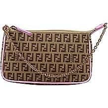 Fendi bolsa Color marrón y rosa