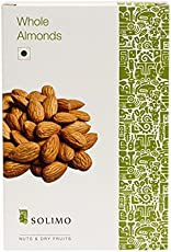 Amazon Brand - Solimo Premium Almonds, 1kg