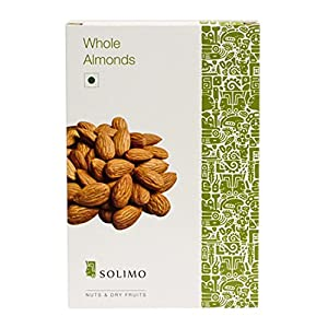 Amazon Brand – Solimo Almonds, 1kg
