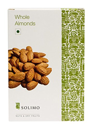 Solimo Amazon Brand Premium Almonds, 1kg