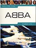 Really Easy Piano : ABBA - 25 Great Hits - Partitions pour piano [Notes de musique]...