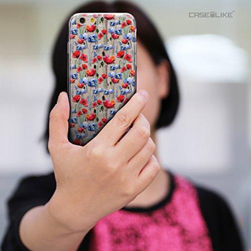 CASEiLIKE Wandschmierereien 2703 Ultra Slim Back Hart Plastik Stoßstange Hülle Cover for Apple iPhone 6 / 6S (4.7 inch) +Folie Displayschutzfolie +Eingabestift Touchstift (Zufällige Farbe) 2233