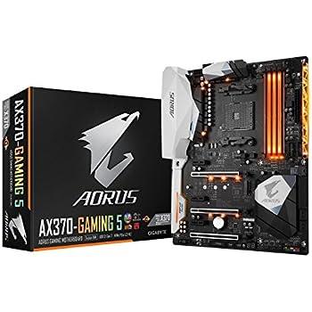 Gigabyte GA-AX370-GAMING 5 Carte mère AMD X370 Socket AM4