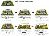 Hornby R8222 00 Gauge Track Extension Pack B