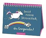 Spiralbuch  Fresst meinen Sternenstaub, ihr Langweiler!  Einhorn  Taschenbuch  Geschenk