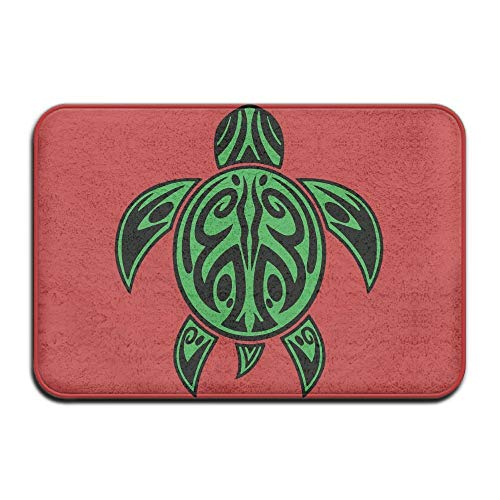 ZHIZIQIU Hawaiian Sea Turtle Anti-skidding Outdoor Doormat Kitchen Rug (Rag-rug-5 X 7)