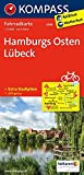 Hamburgs Osten, Lübeck: Fahrradkarte. GPS-genau. 1:70000 (KOMPASS-Fahrradkarten Deutschland, Band 3008) -