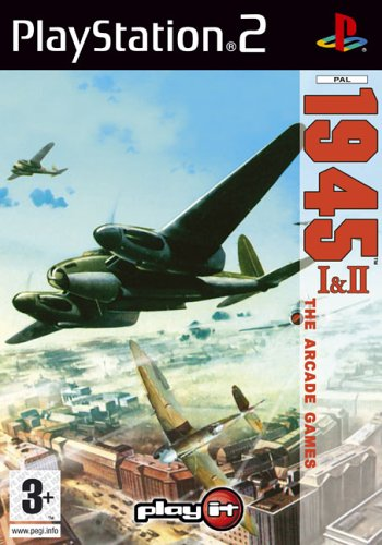PLAY IT STRIKERS 1945: I & II  PS2 BASICO PLAYSTATION 2 INGLES VIDEO   JUEGO (PS2  PLAYSTATION 2  ARCADA  MODO MULTIJUGADOR  E (PARA TODOS))