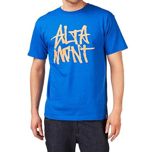 Altamont Herren T-Shirt Stacked Blau - Blau