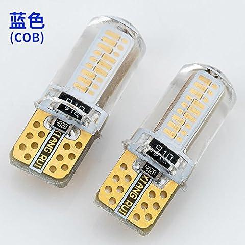 TXDQFa Super bright LED lens auto lamp modification general driving lamp T10 light bulb daily lamp two,COB