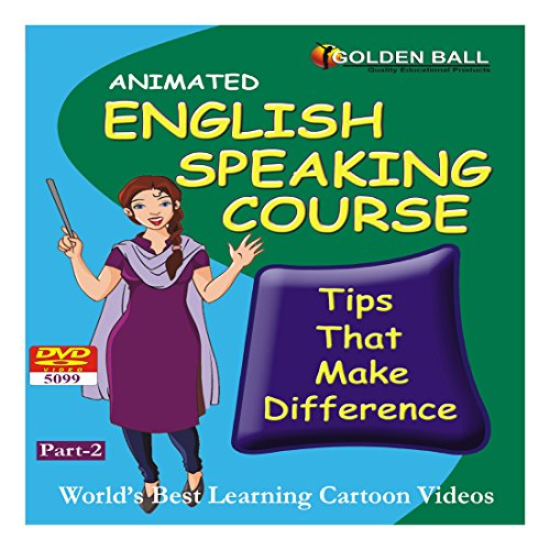 Golden Ball 5099 English Speaking Course Part 2 (DVD)