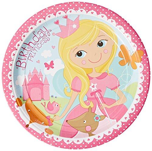 amscan-international-serviettes-en-papier-motif-woodland-princesse-551623-33-cm