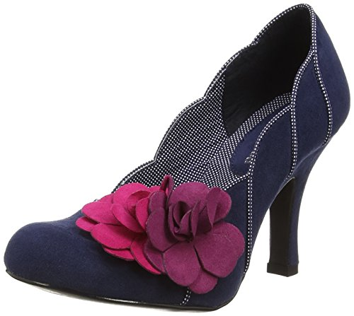 Ruby Shoo April, Escarpins femme Bleu - Bleu (Bleu marine)