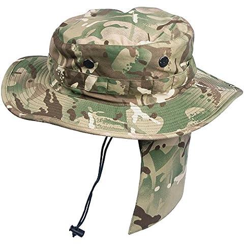 Helikon PCS Boonie Hat Policotton Twill MP Camo Taille L (7 1/2 ou (7.5 Camo)
