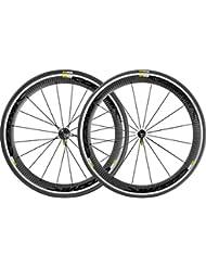 Mavic Cosmic Pro Carbon - Ruedas traseras bicicleta de carretera - negro 2016 Juego de ruedas para bicicleta de carretera