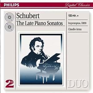 Klaviersonaten  958,959,960/Impromptus d 899