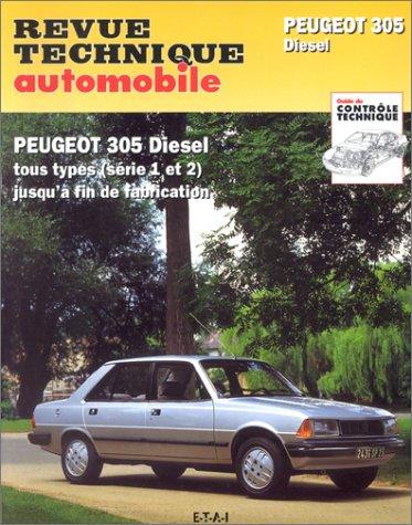Revue technique automobile 734.1 : Peugeot 305 diesel tous modèles